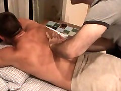 Straight, Verbal Muscle Hunk Gets Worshipped and Sucked