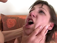 hand over mouth and breast smothering