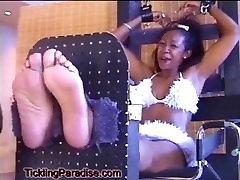 Miss Black USA gets tickled!