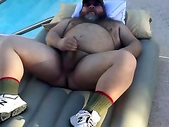big bear pool side