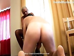 Russian Hannah blonde mistress does her best with her stepson