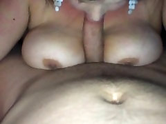 Belgian BBW sucking cock until he cums in her mouth
