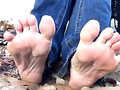 Lovely Nikkies Feet at the Park Part 5