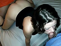 For Women Friend spitroast wife cums in her pussy hubby goes second