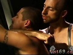 Australian gay guys fisting Justin Southhall works over Scott Samson in a