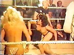 Girl wrestling VHS transfer 2 - sorry but pixelated o