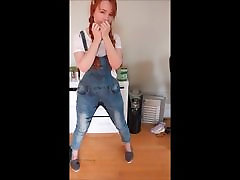 Fantasy of peeing my pants