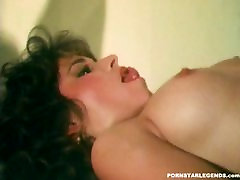 Vintage pornstars anal fucked in a threesome