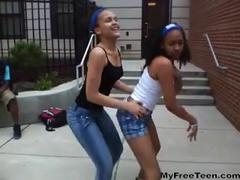 Fine Ass Dominican Teens Dancing teen amateur teen cumshots swallow dp anal