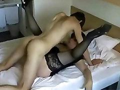My Best Friend Fucking My Busty Mom, Wearing Sexy High-Heels & Panty-Hoes!
