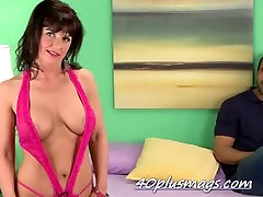 Sexy mature has a new toy