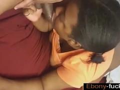 kinky chubby ebony nanny sucking bbc fucked hard - ebony-fuck.com
