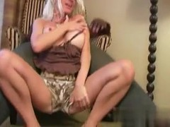 I found her on MATURE-FUCKS.COM - Mature blonde creampied by BBC