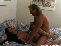 Asia Carrera when younger fucked hard and cummed on
