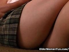 Granny Brendas bingo night turns into a masturbation frenzy