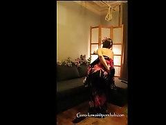 E4: DominanceSubmission. Kimono MILF gets punished & fucked -weird vid :