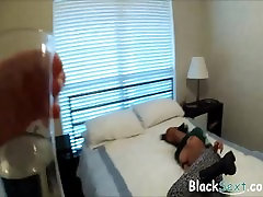 Black girl stumbles into wrong apartment and gets fucked