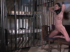 Teen is punished and humiliated in rough fuck famili sex movi bondage