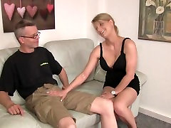 Young Girl riding Old Man s Cock