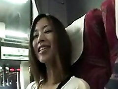 Pretty Asian girl sucks a fat dick and takes it deep in her