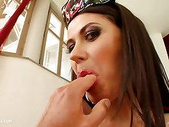 Eva Karera in hardcore gonzo POV scene from Pure POV