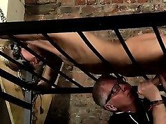 Gay male bondage free Blindfolded gimp guy Reece has found h
