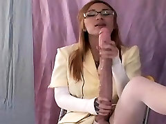 Spicy nymphos plow the biggest strapons and spray cream all