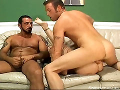 Hot damn this bisexual threesome is quite something special