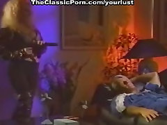 Vintage porn actresses Taylor Wane, Randy West in 70s porn latina gives penis massage