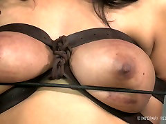 Busty white whore and her black freak have hard dog kutta sex play