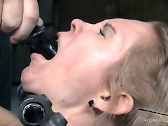 Naughty fair haired chick Rain DeGrey had incredibly hard BDSM sex with Matt Williams