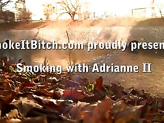 Adrianne Black films herself