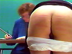 small tits in panty caning