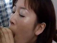 Mature Japanese MILF Fucked and Facialed Uncensored
