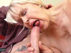 AgedLovE Sexy Mature Blonde Lady Sextasy