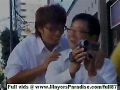 Moe kimishima hot asian teacher at school
