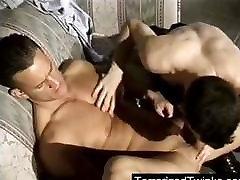 Young twik anal fucked hard