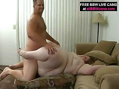 Open Pussy Bbw Fat Belly Giant Tits Yells For Dick Part 2