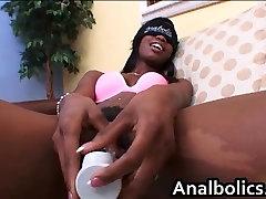 Black teen slut Hydie Waters loves