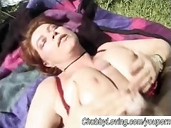 Chubby mom with big tits fucked