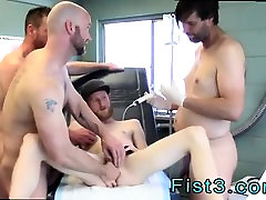 Gay boys fist stories First Time Saline Injection for Caleb