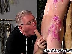 Bondage anime boys gay The man is so inexperienced, but Seba