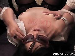 Slutwife gets gangbanged by plenty of men