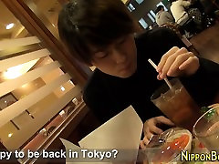 Japanese twink solo tugs