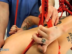 Submissive cum footjob eat sex with analhole whore