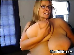 Mature BBW With Very Saggy Breasts