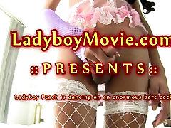 Ladyboy Peach Fucked Bareback