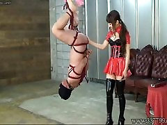 Japanese brazzers long time full Hanging Upside Down Slave