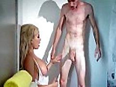 Huge Cock Fill Right In Hot Wet Holes Of Pornstar Luna Star video-15