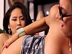 Asian lesbian tribs babe